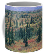 Tiaga Fall Colors, Tundra And Spruce Coffee Mug