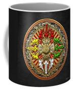 Tibetan Double Dorje Mandala Coffee Mug