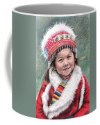 Tibetan Girl Coffee Mug