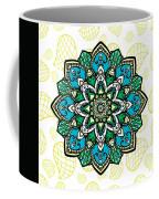 Tibetan Mandala Seamless Pattern Coffee Mug