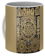 Tibetan Thangka - Tibetan Astrological Diagram Coffee Mug