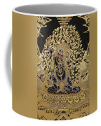Tibetan Thangka - Vajrapani - Protector And Guide Of Gautama Buddha Coffee Mug