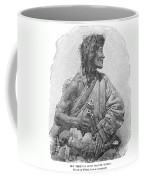Tibetan With Prayer Wheel Coffee Mug