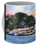 Tiburon California Waterfront Coffee Mug