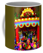 Ticket Booth Of Flowers Coffee Mug