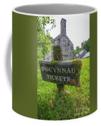 Tickets Sign Coffee Mug