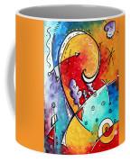 Tickle My Fancy Original Whimsical Painting Coffee Mug