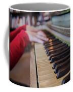 Tickling The Ivory  Coffee Mug
