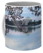 Tidal Basin Blossoms - Jefferson Memorial Coffee Mug