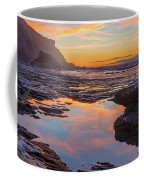 Tidal Pool At Sunset Coffee Mug by Dmytro Korol