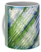 Tie Dye Art. Rainforest In Spring Coffee Mug