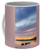 Tied Off In French Village, Nova Scotia Coffee Mug