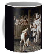 Tiepolo: Acrobats, 18th C Coffee Mug
