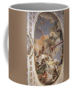 Tiepolo Palacio Real The Apotheosis Of The Spanish Monarchy Giovanni Battista Tiepolo Coffee Mug
