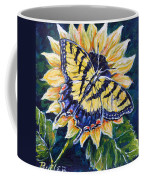 Tiger And Sunflower Coffee Mug