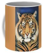 Tiger At Midnight Coffee Mug