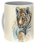 Tiger Cub Portrait 865 Coffee Mug
