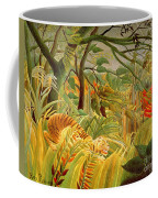Tiger In A Tropical Storm Coffee Mug