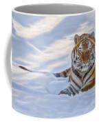 Tiger In The Snow Coffee Mug