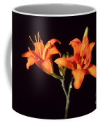 Tiger Lily Flower Opening Part Coffee Mug