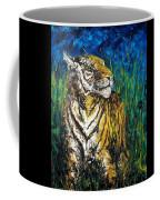 Tiger Night Hunt Coffee Mug