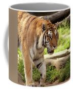 Tiger On The Hunt Coffee Mug