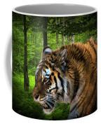 Tiger On The Prowl Coffee Mug