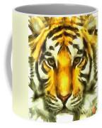 Tiger Painted Coffee Mug