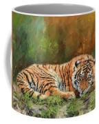 Tiger Repose Coffee Mug