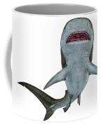 Tiger Shark Underside Coffee Mug