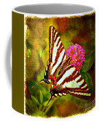 Zebra Swallowtail Butterfly - Digital Paint 3 Coffee Mug