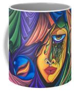 Playful Tiger - Scar Series 4 Coffee Mug