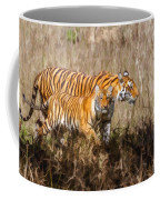 Tigers Burning Bright Coffee Mug