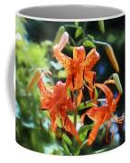 Tigers In The Sun Coffee Mug