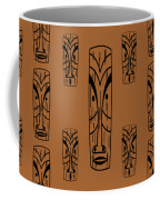 Tikis Mini Coffee Mug by Donna Mibus