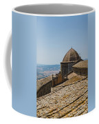 Tile Roof Tops Of Volterra Italy Coffee Mug