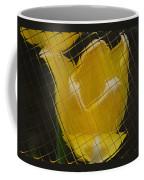 Tiled Yellow Tulip Coffee Mug