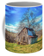 Tilted Log Cabin Coffee Mug