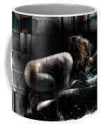 Tilted Water Girl Coffee Mug