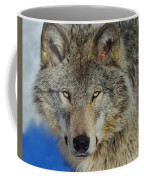 Timber Wolf Portrait Coffee Mug