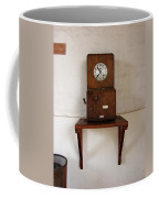 Time Clock Coffee Mug