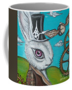 Time Flies For The White Rabbit Coffee Mug