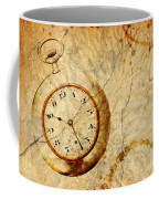 Time Coffee Mug by Michal Boubin