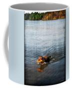 Time To Fetch Coffee Mug by Joan  Minchak