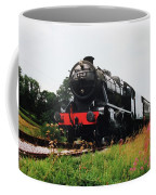 Time Travel By Steam Coffee Mug by Martin Howard