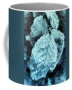 Time Travel Winter Leaves Coffee Mug