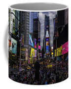 Times Square From The Steps Coffee Mug
