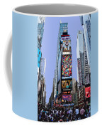 Times Square Nyc Coffee Mug by Kelley King