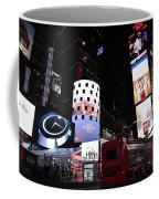 Times Square On News Year Eve Coffee Mug