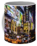 Times Square Pano Coffee Mug